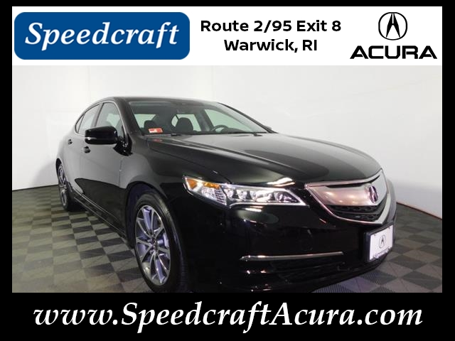 Certified Pre-Owned 2017 Acura TLX V6 w/Tech V6 4dr Sedan w ... on