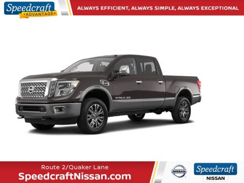 Certified Pre-Owned 2017 Nissan Titan XD Platinum Reserve 4WD