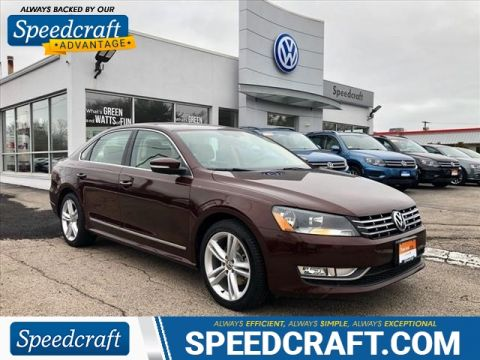 Certified Pre-Owned 2013 Volkswagen Passat TDI SE With Navigation