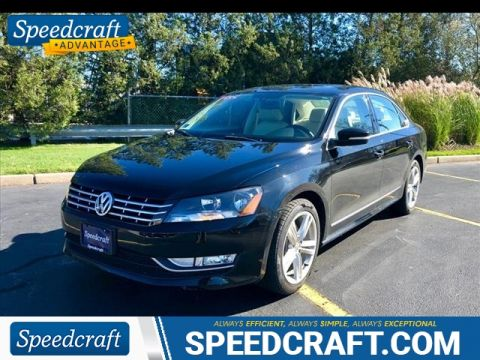 Certified Pre-Owned 2014 Volkswagen Passat 2.0L TDI SEL Premium With Navigation
