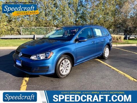 Certified Pre-Owned 2017 Volkswagen Golf SportWagen S FWD TSI S 4dr Wagon 6A