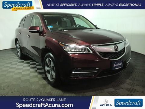Certified Pre-Owned 2016 Acura MDX 3.5L AWD