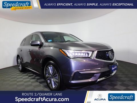 Certified Pre-Owned 2017 Acura MDX 3.5L With Navigation & AWD