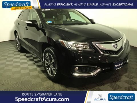 Certified Pre-Owned 2017 Acura RDX Advance Package With Navigation & AWD