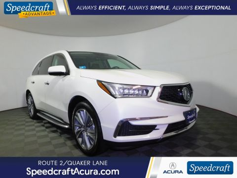 Certified Pre-Owned 2018 Acura MDX 3.5L With Navigation & AWD