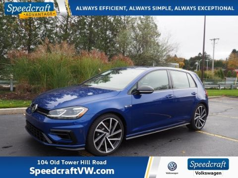 2019 Volkswagen Golf R w/DCC and Navigation